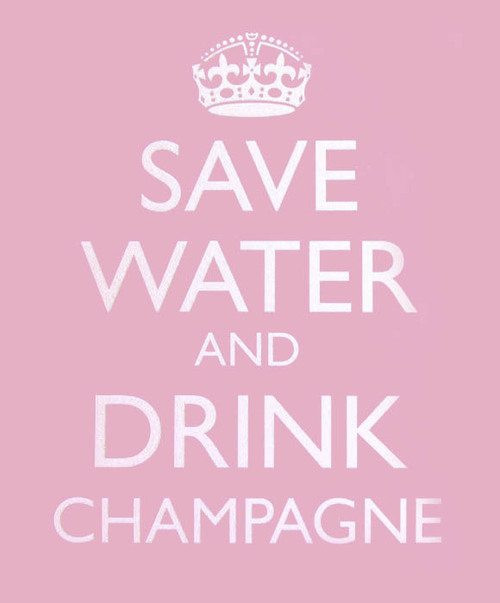 Drink champagne quotes quotesgram for Cocktail quote
